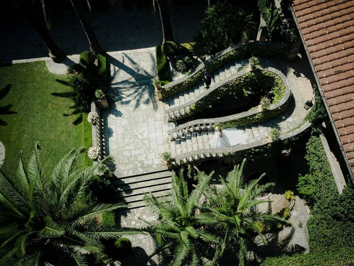 Castello Monaci - Discesa
