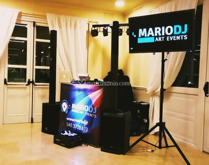 Mario dj music art events
