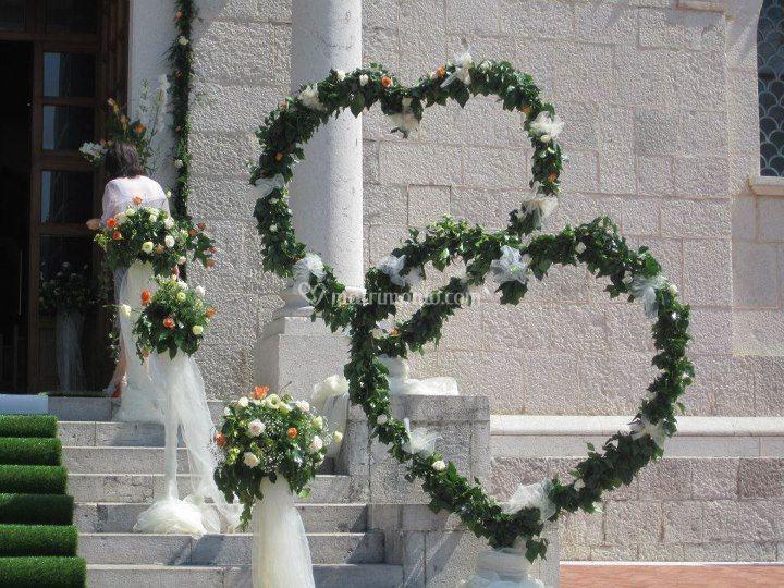 L 39 angolo dei fiori - Addobbi casa per matrimonio ...