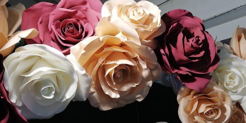 Le rose di gomma