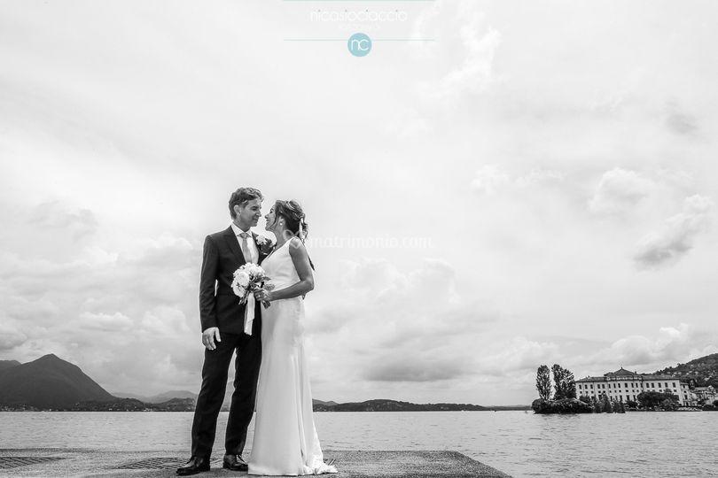 Sposi sul lago maggiore