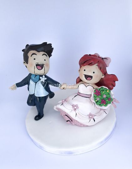 Cake topper fumetto