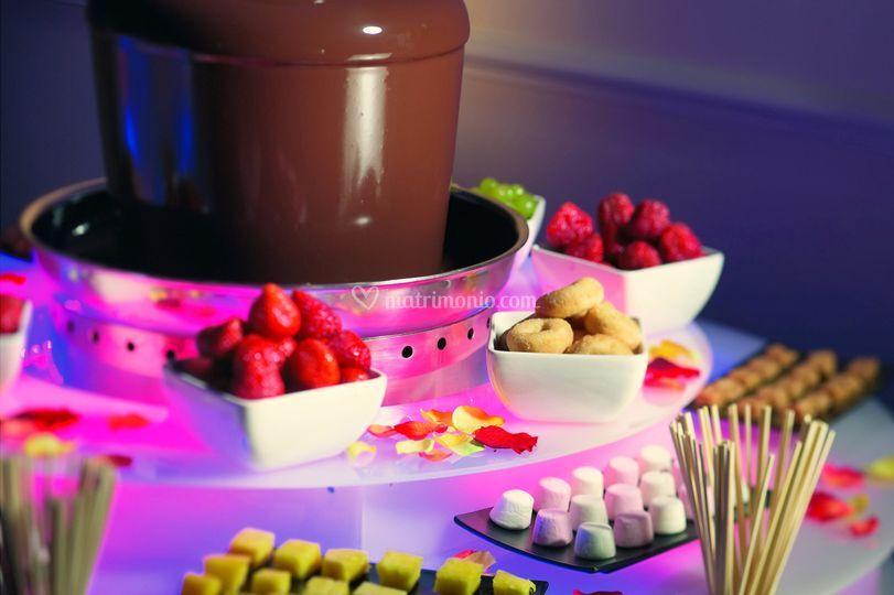Frutta & dolci con cioccolato