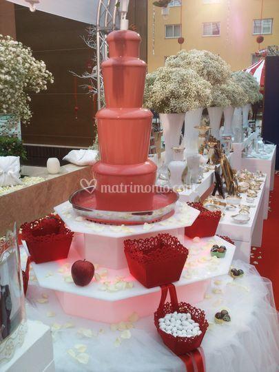 Fontana Laurea rossa