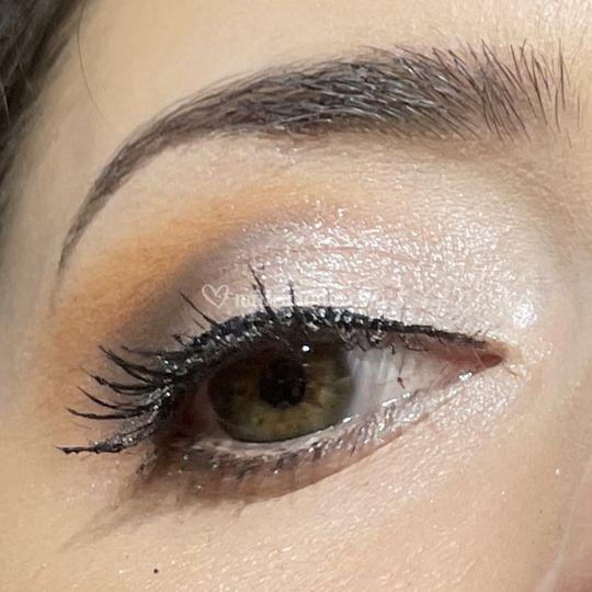 Close-up trucco sposa