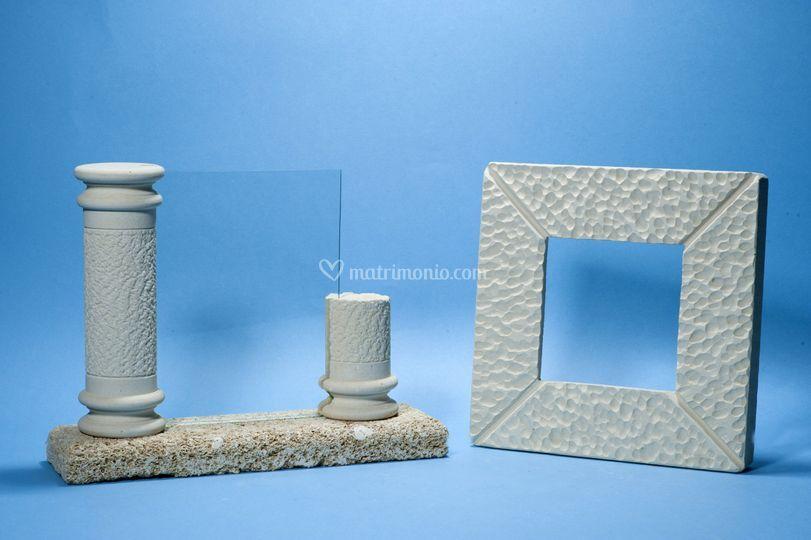 Cornice colonna, quadrata