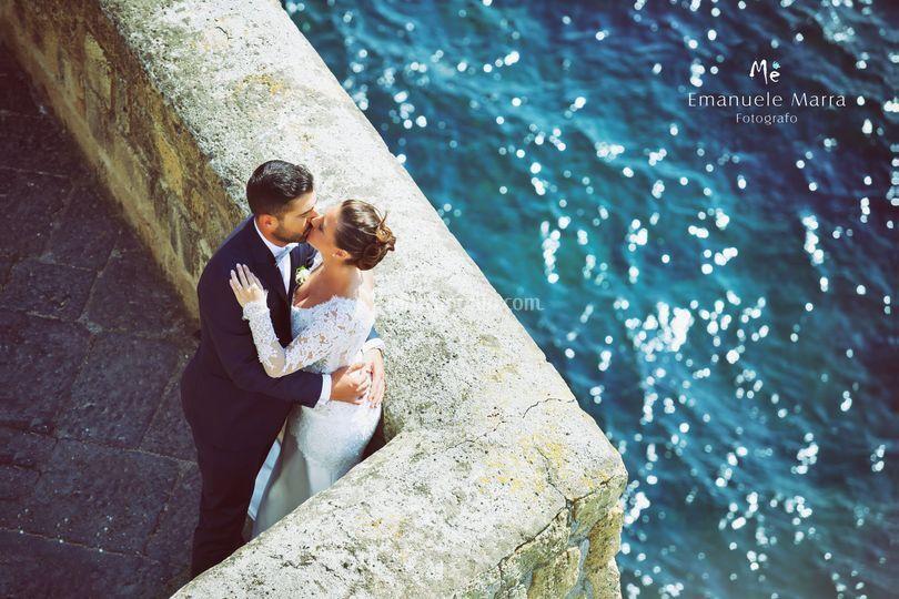 Laura e Giuseppe sposi