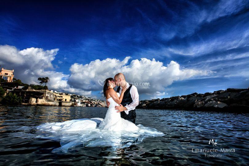 Emanuele e Roberta sposi