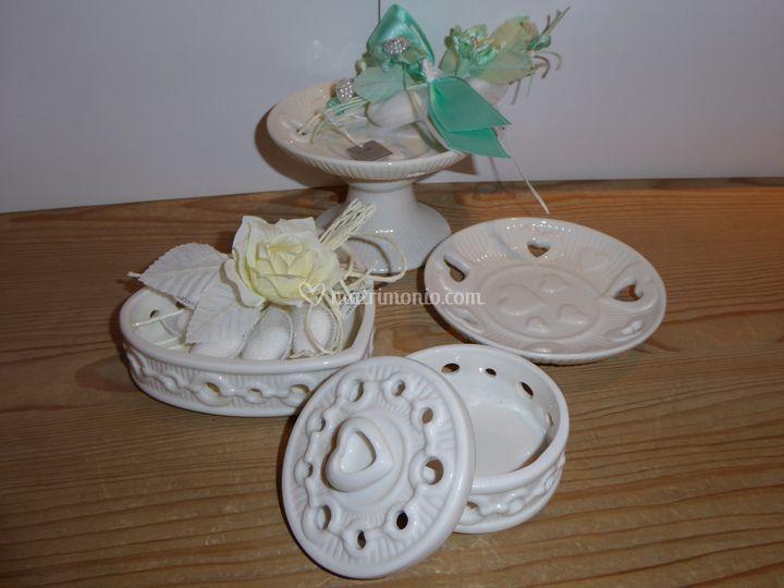 Bomboniere in porcellana
