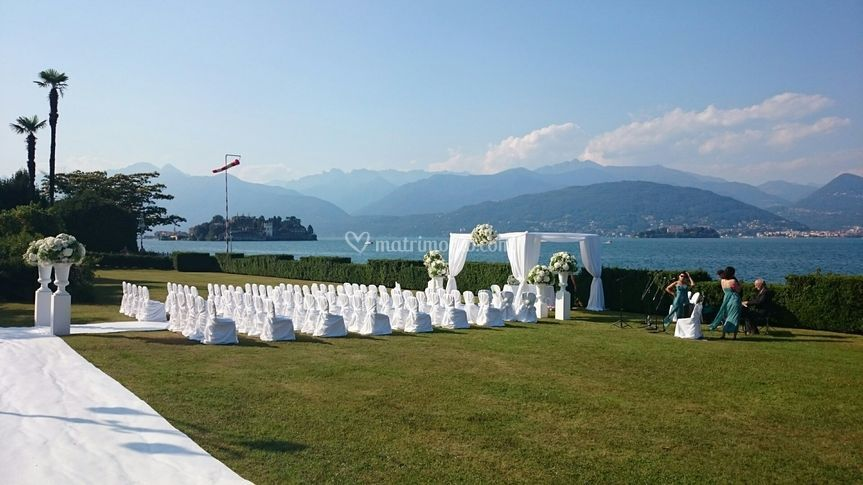 Cerimonia Giardino Lago