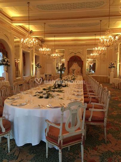 Sala Meazza Tavolo Reale