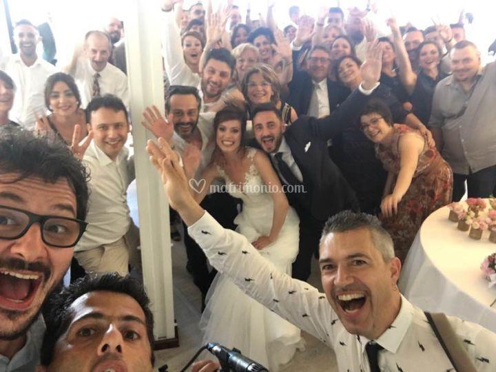 Wedding party con band