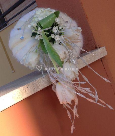 Bouquet di lana