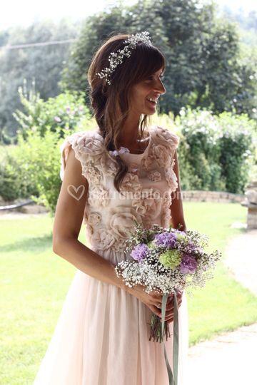 Il look della sposa