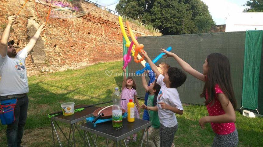 Giochi con le bolle