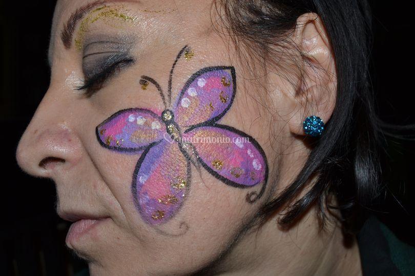 Dettaglio farfalla