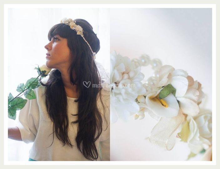 Corona addio al nubilato/sposa