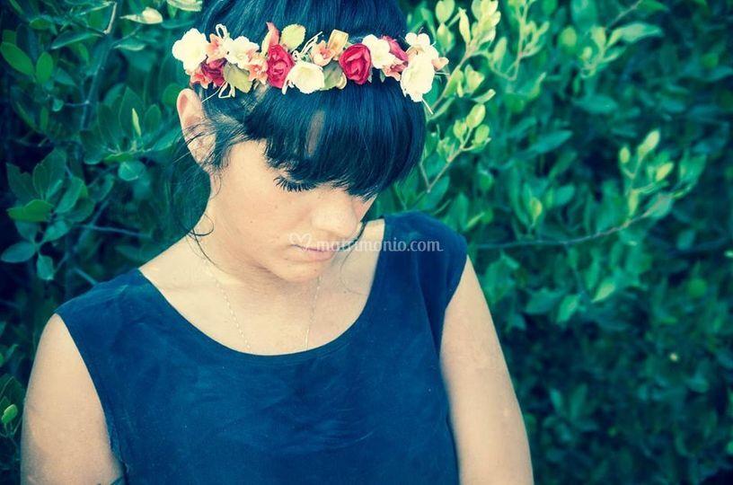 Coroncina di fiori/damigelle