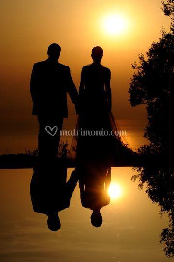 Un romantico tramonto
