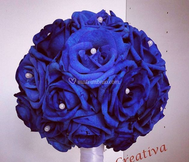 Bouquet in Blue