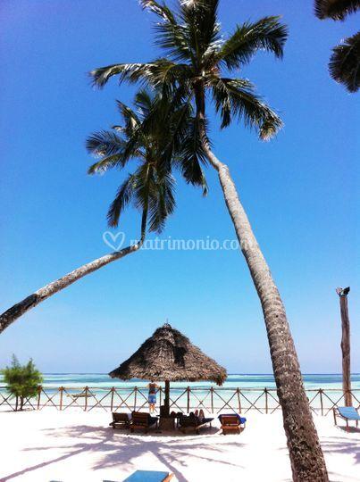 Spiaggia da sogno a Zanzibar