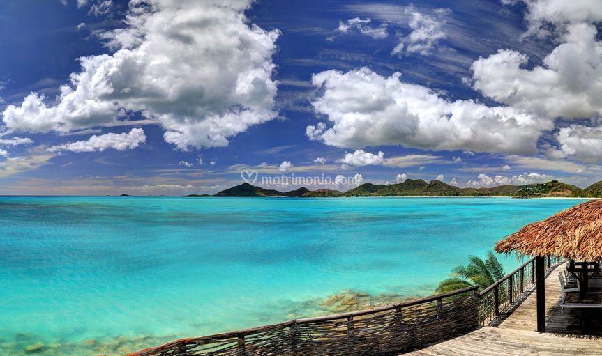 Le acque di Antigua