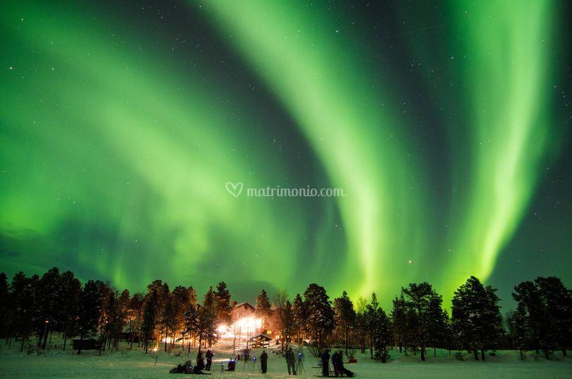 L'incantevole Aurora Boreale