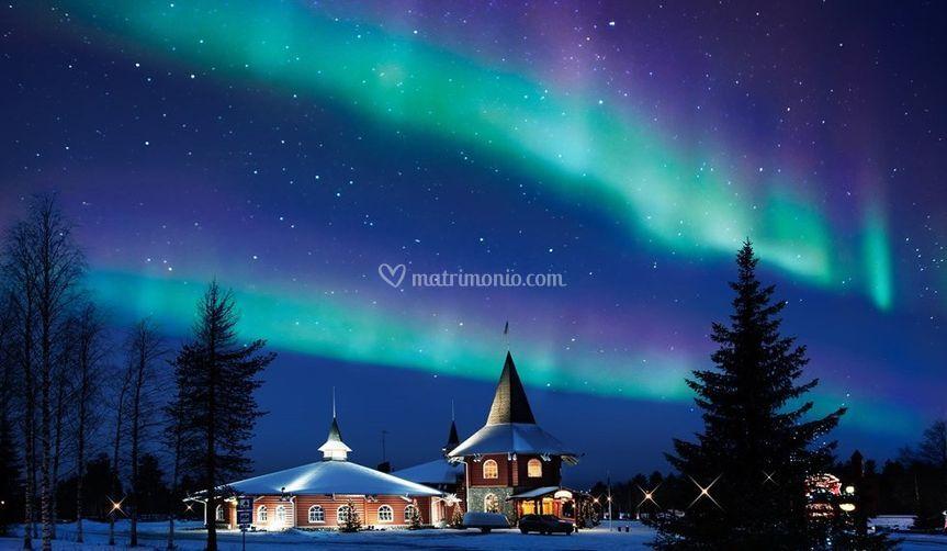 Il fascino dell'aurora boreale