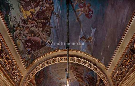 Galleria monumentale - Dettagli soffitto
