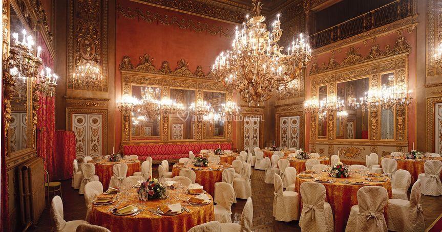 Sala specchi di Palazzo Borghese