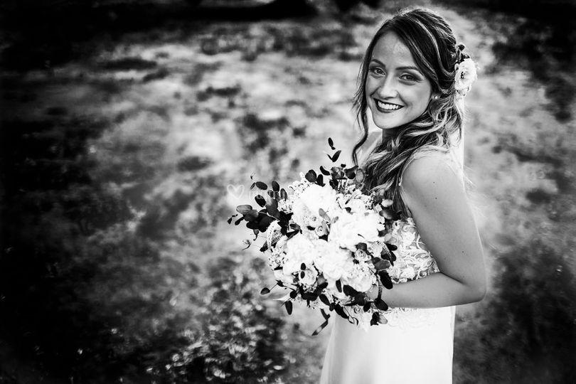 Wedding in bianco e nero