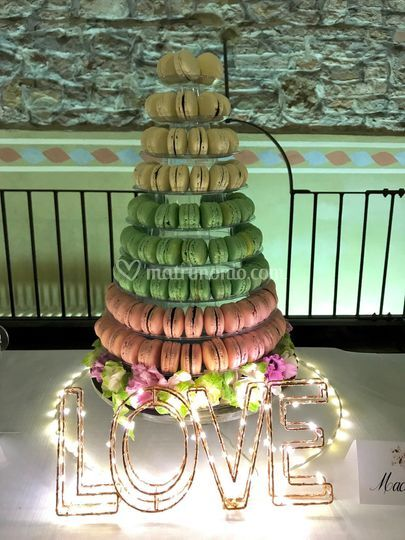 Torre di macarons