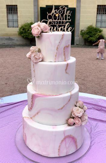 Wedding cake interamente vera