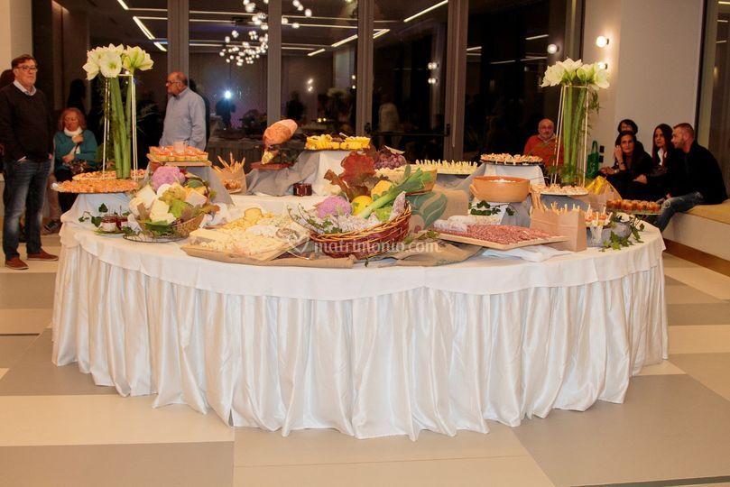 Buffet Tondo a Villa Sassi