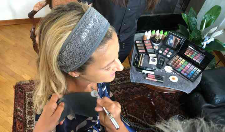 BioCenter Make-up Aerografato
