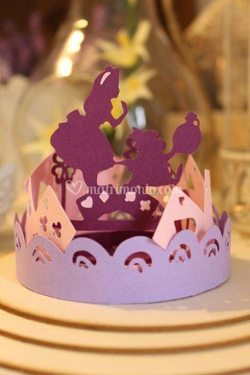 Segnaposto Alice in Wonderland