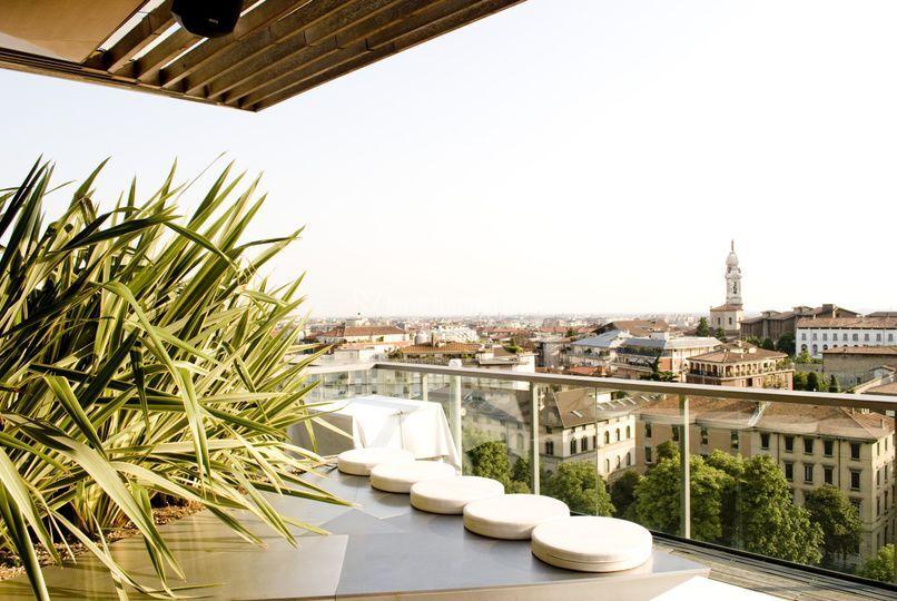 Hotel Excelsior San Marco Di Roof Garden Restaurant