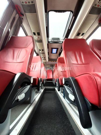 Minibus interni in pelle