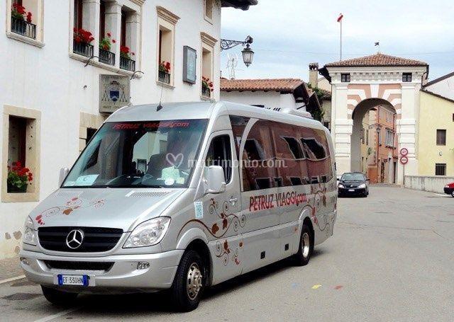 Minibus a Cividale