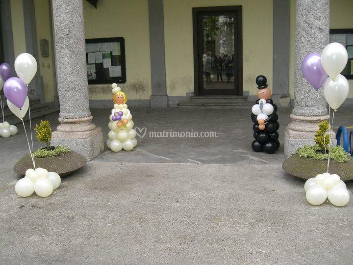 Sposi+ bouquet Ingresso Comune