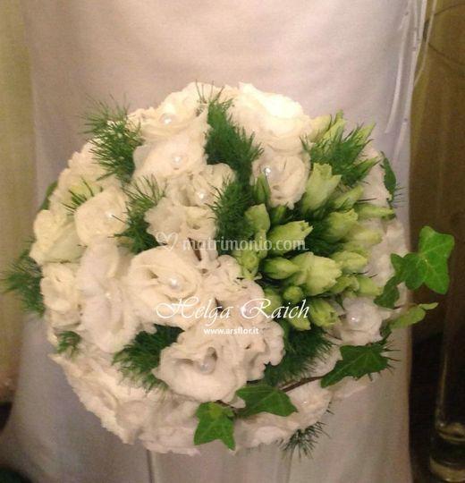 Bouquet classico rot