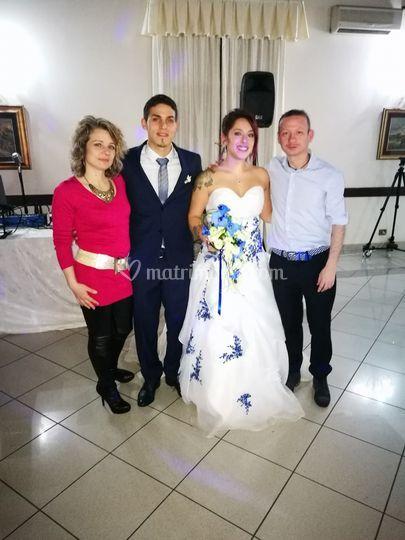 Matrimonio Denise e Vincenz