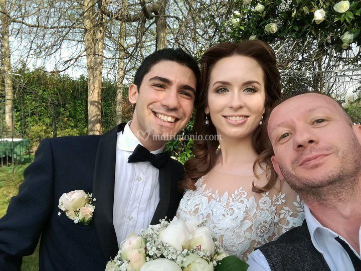 Matrimonio di Tiziano e Anna
