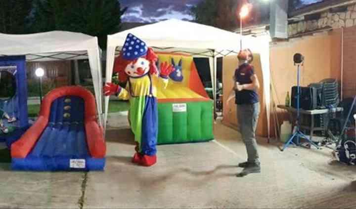Carnival game, luna park