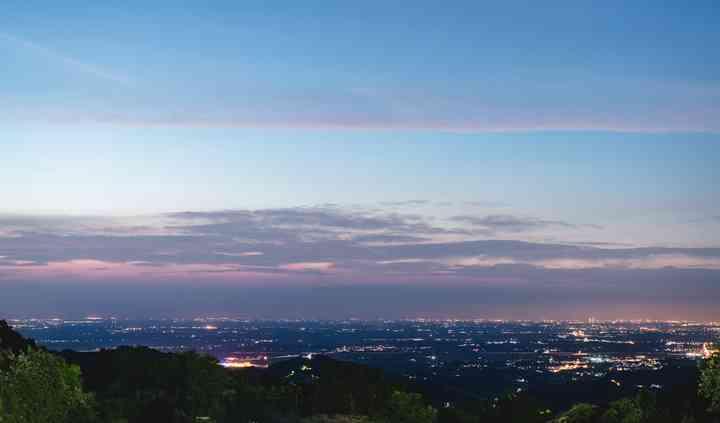 La vista dal Borgo