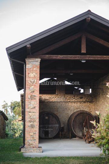 Un portico del borgo