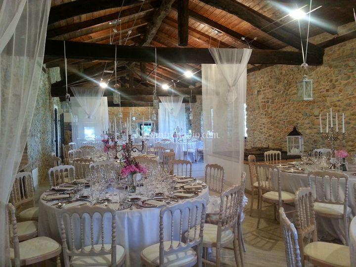 Borgo della rocca for Sala pranzo country