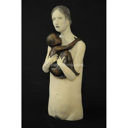 Scultura Maternità by Bedussi