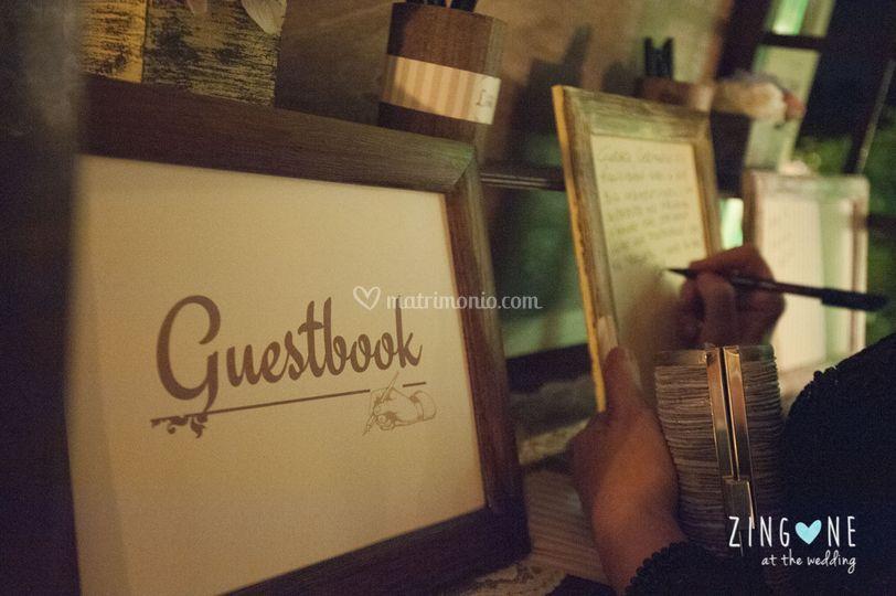 Dettagli guestbook