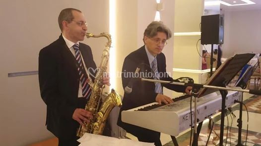Luce sax live
